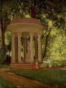 Henri Lebasque: Pavillon im Parc Monceau