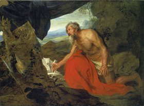Anthonis van Dyck: Der büssende Hieronymus