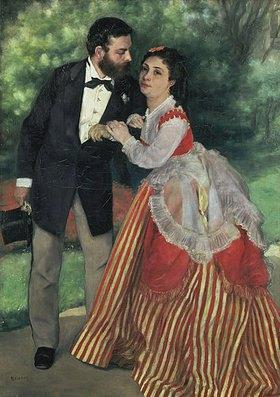 Auguste Renoir: Das Ehepaar Alfred Sisley