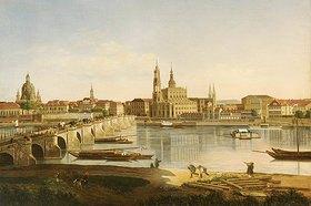 Karl Gottfried Traugott Faber: Blick auf Dresden