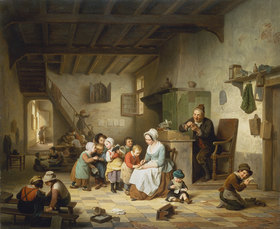 Basile de Loose: In der Dorfschule