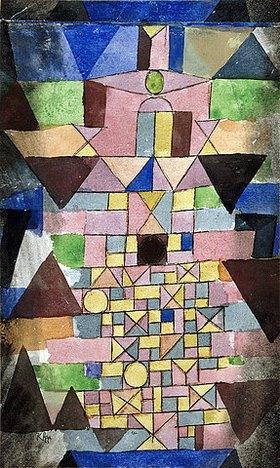 Paul Klee: Schrift  Architectonisch