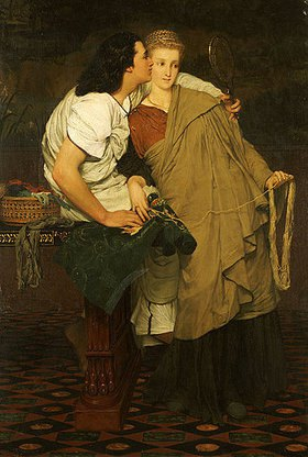 Sir Lawrence Alma-Tadema: Die Liebenden (Honeymoon)