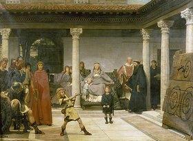 Sir Lawrence Alma-Tadema: Die Ausbildung der Kinder Clovis'
