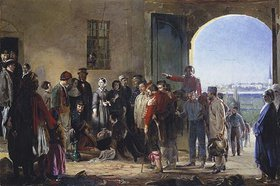 Jerry Barrett: Florence Nightingale bei den verwundeten Soldaten