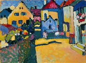 Wassily Kandinsky: Grüngasse in Murnau