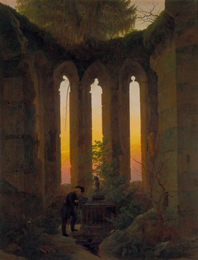 Caspar David Friedrich: Huttens Grab