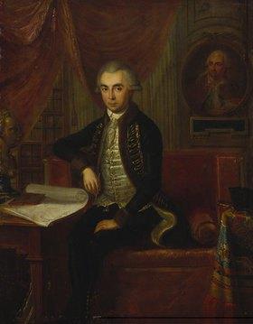 Johann Martin Stock: Bildnis Samuel Teleki