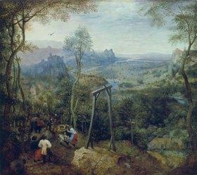 Pieter Brueghel d.Ä.: Die Elster auf dem Galgen