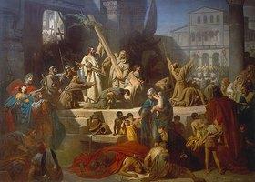 Karl Theodor von Piloty: Die Eroberung Jerusalems durch Gottfried von Bouillon