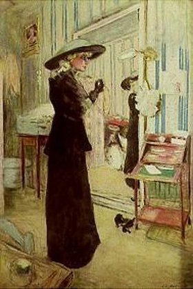 Edouard Vuillard: Charlotte Lyses