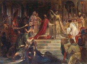 Friedrich August von Kaulbach: Die Kaiserkrönung Karls des Grossen