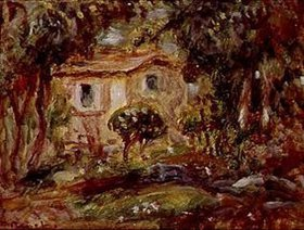 Auguste Renoir: Gartenlandschaft mit Haus