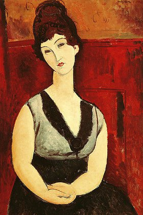 Amadeo Modigliani: Das Schokoladenmädchen