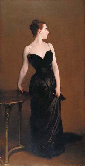 John Singer Sargent: Madame X. (Mme. Pierre Gautreau)