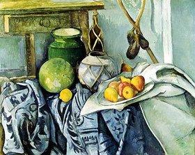 Paul Cézanne: Stilleben mit Ingwertopf und Auberginen