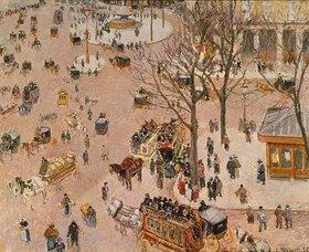 Camille Pissarro: Paris, Place du Theatre