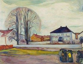 Edvard Munch: Das Haus am Strand