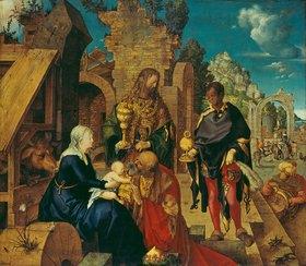 Albrecht Dürer: Die Anbetung der Könige