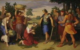 Moritz von Schwind: Abigail vor David