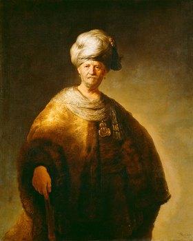 Rembrandt van Rijn: Bildnis eines vornehmen Orientalen