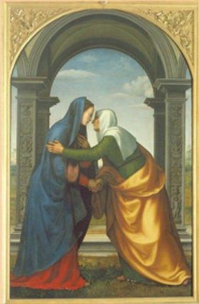Mariotto di Bigio Albertinelli: Der Besuch der Madonna bei der Hl. Elisabeth (Heimsuchung Mariae)