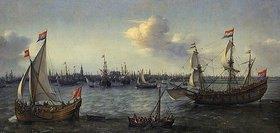 Hendrik Cornelisz Vroom: Der Hafen von Amsterdam