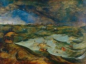 Pieter Brueghel d.Ä.: Seesturm