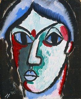 Alexej von Jawlensky: Portrait eines Mannes