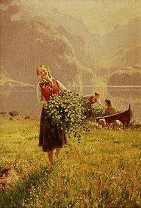 Hans Dahl: Frühling im Fjord