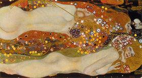 Gustav Klimt: Wasserschlangen II. (Freundinnen)