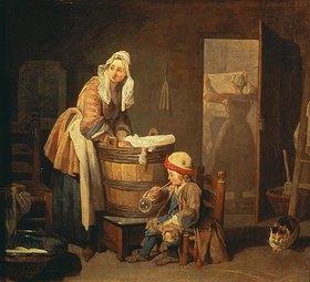 Jean-Baptiste Siméon Chardin: Die Wäscherin