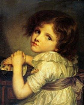 Jean Baptiste Greuze: Das Mädchen mit der Puppe