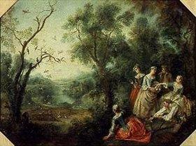 Nicolas Lancret: Der Frühling (oder: Die Vogelfalle)