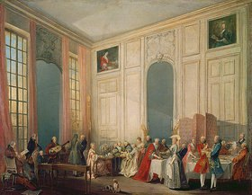Michel Barthélemy Ollivier: In einem englischen Teesalon