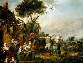 Louis Joseph Watteau: Hochzeit auf dem Lande