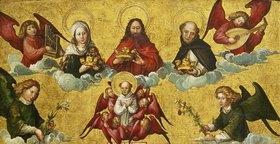 Albrecht Dürer: Die Krönung des hl.Dominikus