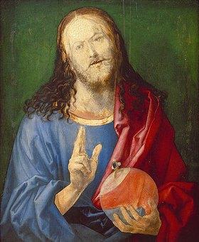 Albrecht Dürer: Salvator Mundi (unvollendet)