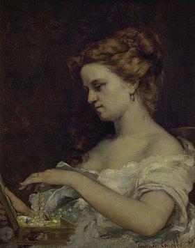 Gustave Courbet: Die Dame am Schmuckkasten