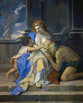 Charles Le Brun: Allegorie der Nächstenliebe (Charité)