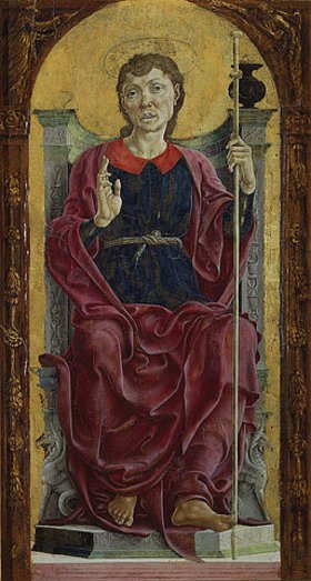 Cosimo Tura: Der heilige Jakob