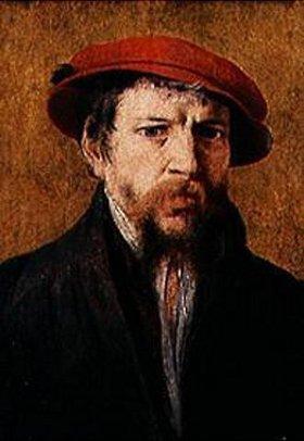 Frans Floris de Vriendt: Mann mit roter Mütze