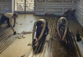 Gustave Caillebotte: Die Parkett-Hobler