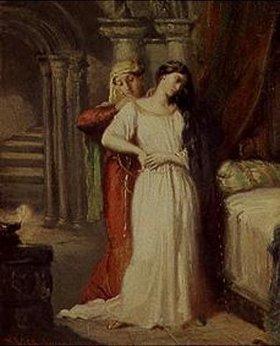 Theodore Chasseriau: Die Abendtoilette der Desdemona