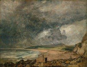 John Constable: Die Bucht von Weymouth bei herannahendem Sturm