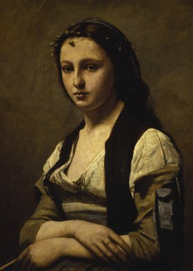 Jean-Baptiste Camille Corot: Die Frau mit der Perle