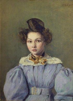 Jean-Baptiste Camille Corot: Marie-Louise Laure Sennegon, Bildnis