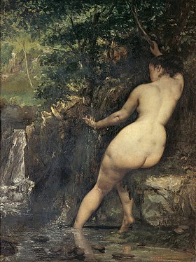Gustave Courbet: An der Quelle