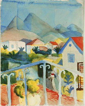 August Macke: Saint Germain bei Tunis