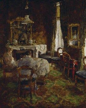 James Ensor: Der Salon